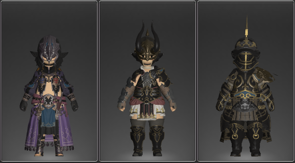 Ffxiv Ironworks Crafting Gear Mats